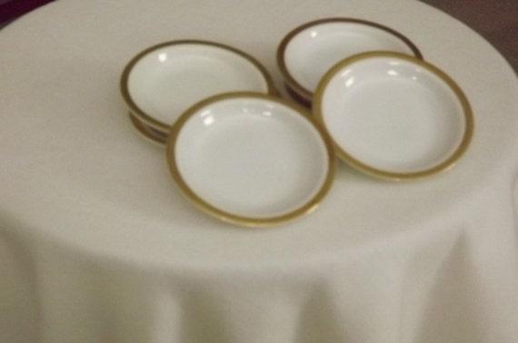 Bavarian Porcelain Butter Pats
