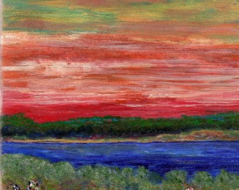 Matlacha Sunset :  Florida Gulf Coast