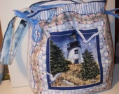 J-Bags Handmade quilted Lighthouse Bag