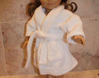 "American 18"" Doll Spa Robe"