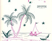 Tropic Night by Imogene A. Williams, tropic night, out of print sheet music