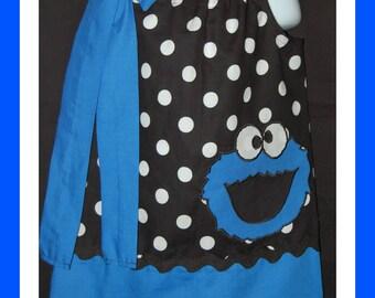 Cookie Monster Pillowcase Dress