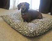 Custom Pet Bed Duvet Cover in your choice of fabric. Pick from ANY of the fabrics in my shop
