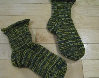 PATTERN -  Toe up sock pattern