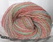 Handspun Yarn - Baby Girl - Heavy Worsted, Punta Wool, 120 Yards