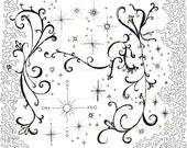 "Original Art Giclee Print   ""Beyond""    11""x14""   Night Sky"