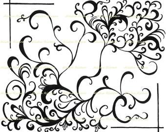 "Original Art Giclee Print ""Seraphim""   11""x14""    Intensity  Passion"