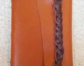 Burnt Orange Braid Journal/Sketchbook