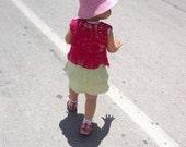 Crochet  ''Pineapple Bolero''  for baby girls, summer bolero, in pink, for 2 -3 years, gift for children