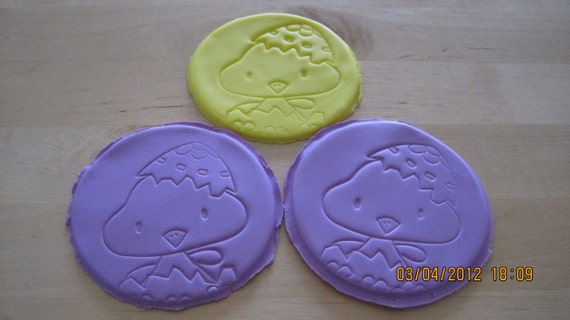 Easter glass coasters