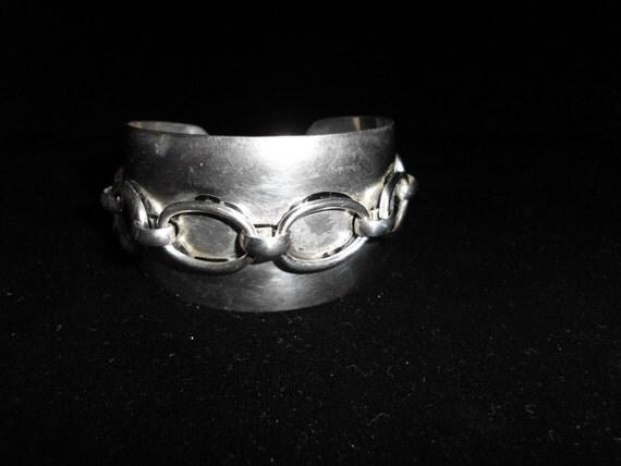 Bracelet  1970S SILVER over COPPER
