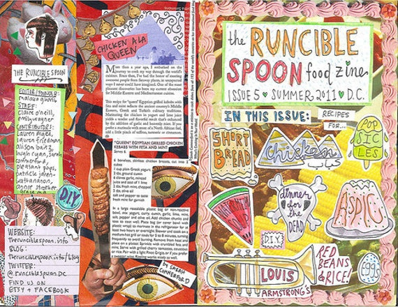 The Runcible Spoon Issue 5 (Black and White)