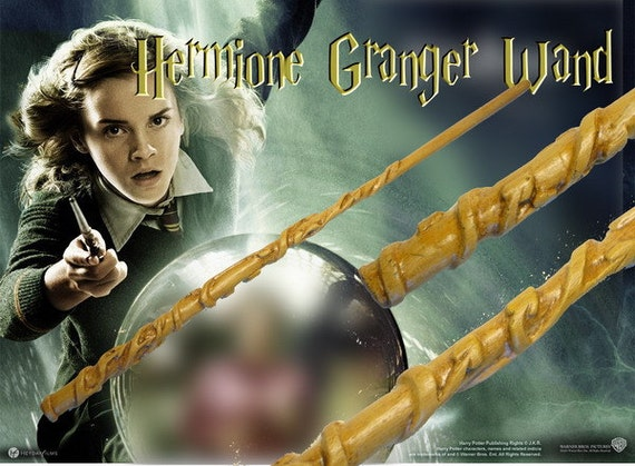 hermione granger magic wand harry potter