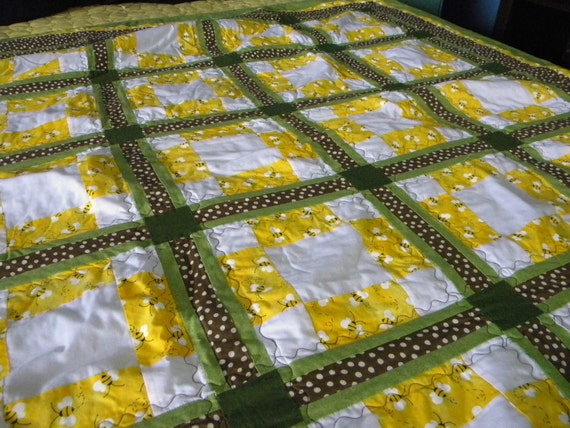 You'll be My Honeybee Twin Quilt