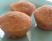 Mini Muffin Cupcakes Cinnamon Sugar - one dozen