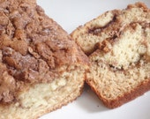 Cinnamon Swirl Buttermilk Loaf Bread Pound Cake - Mother's Day Brunch or Christmas Morning Treat