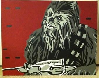 Chewbacca pop art