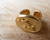 Golden Geese ring