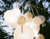 private listing for Gitte, 25 Paper Lanterns - Wedding, Party, Nursery  Decor
