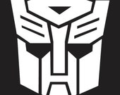 Transformers Autobot decal-5inch