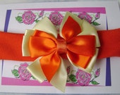 Sweet Pinwheel Boutique Bow & Infant Headband 3 to 6 months