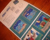 Jonah and the Whale - Fabric Story Book Panel by Fabric Traditions