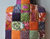 Hand-Made Patchwork Hot Water Bottle Cover