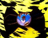 Batman Hair Bow Large