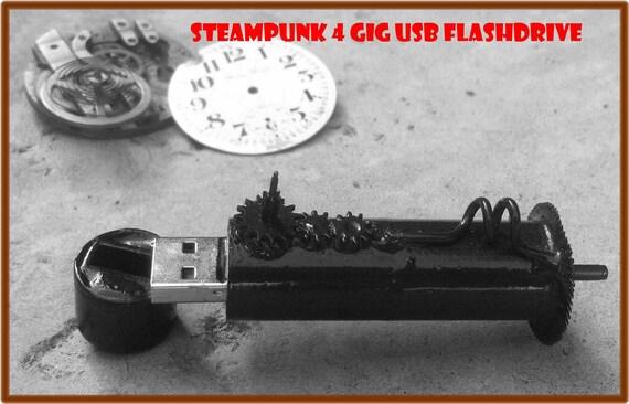 STEAMPUNK USB FLASHDRIVE