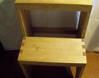 Wooden Step Stool - Adult - Shaker-inspired