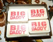 Awesome Vintage box of BIG DADDY Soaps by Torino
