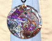 Dolphin Jewelry, Resin Art, Pendant, Handmade Pendant, Dolphin Art, OOAK,  Dolphin Pendant, Dolphins, Mother's Day Gift Idea, Unisex