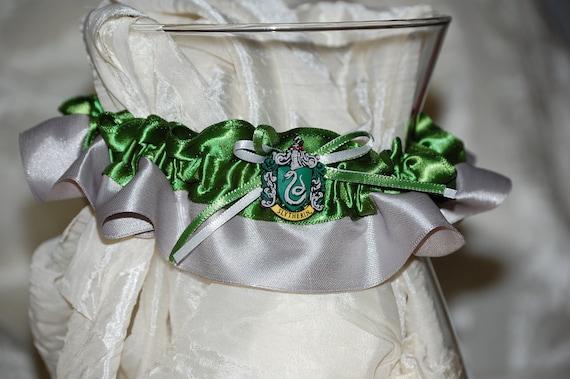 Custom Potter House Themed Wedding Garter or Costume Garter
