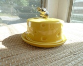 Vintage Mouse cheese dish