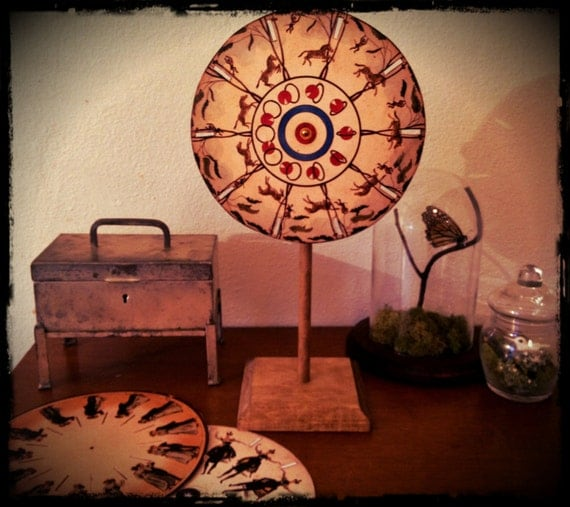 Victorian Replica Phenakistoscope-Moving Pictures-Delight Children of All Ages