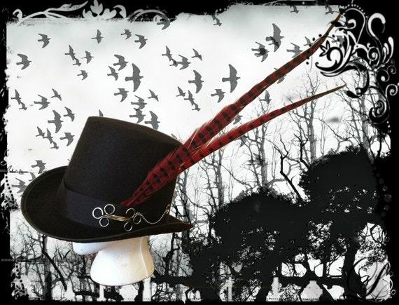 Gothic Steampunk Top Hat