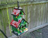 Recycled Soda Can Birdhouse