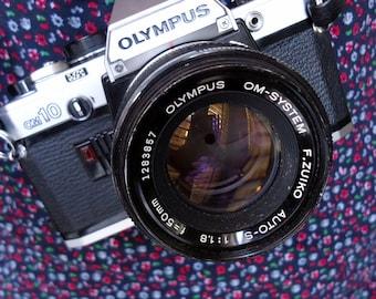1979 Olympus OM10 Vintage Camera