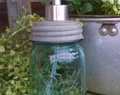 Ball Mason Jar soap dispenser pint size