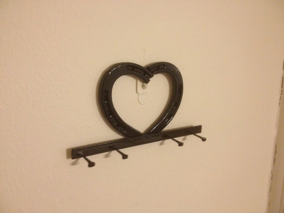 Small Key Wall Decor : Items similar to horseshoe small valentine heart wall