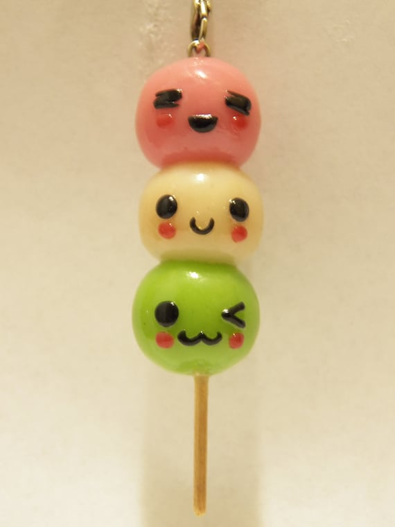 items similar to japanese dango cell phone charm on etsy