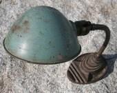 Vintage Eagle Goosneck Desk Lamp Blue