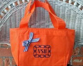 Monogrammed Insulated Lunch Cooler Tote Teachers Gift