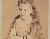 CDV Victorian Child by Ralph F. Snyder Bloomsburg PA 1870
