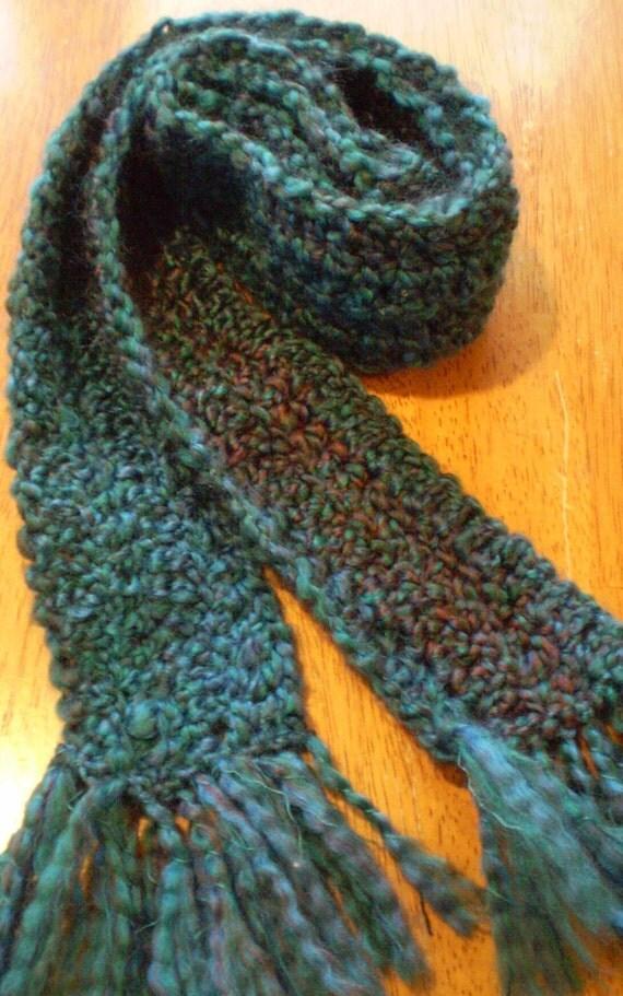 Crochet Scarf Multicolored Decorative Fashion Neck Warmer