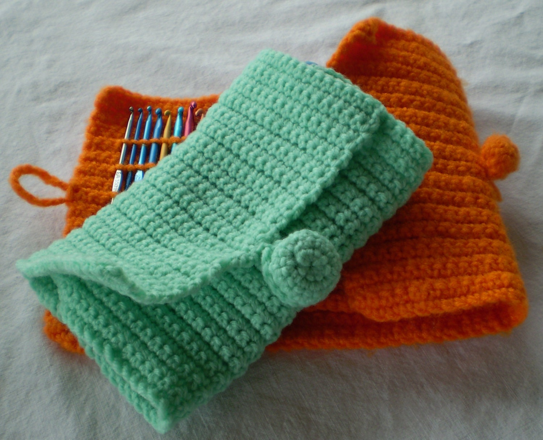 Crochet Hook Case Organizer Make It by Wearehomecrafting on Etsy