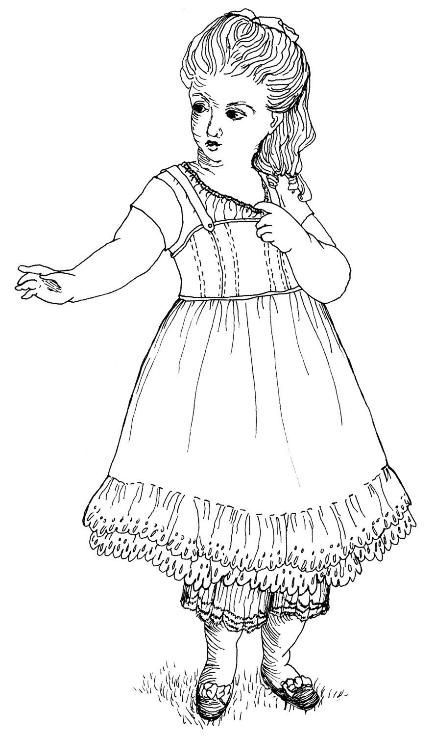 american girl doll coloring pages coloring pages pictures