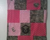 ABU Lovey patchwork uniform with minky