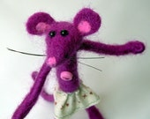 Dawn Mouse...needle felted animal