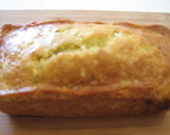 Orange Zucchini Coconut Bread
